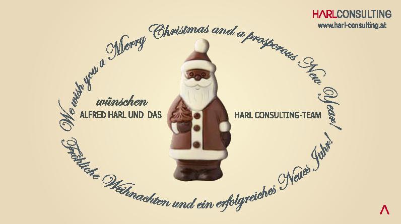 Vorderseite der Verpackung für die Weihnachtspralinen